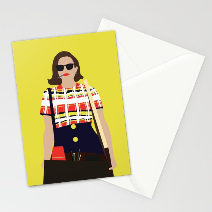 Peggy Olson Mad Men Stationery Cards