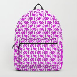 Pink Palm Trees Backpack