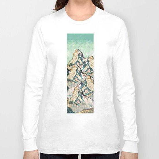 The Great, Great Night Mountain No. 8 Long Sleeve T-shirt