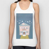 starry night Tank Tops featuring starry night by ARTION