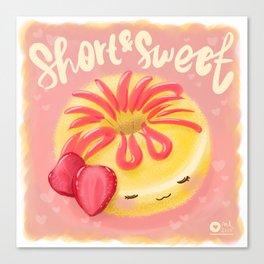 Short & Sweet Canvas Print