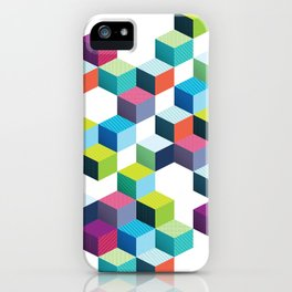 Winter Footsteps iPhone Case