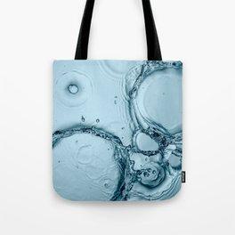 Water Splash 4 Tote Bag