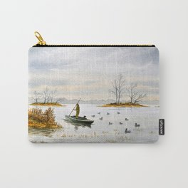 Duck Hunting - The Island Duck Blind Carry-All Pouch