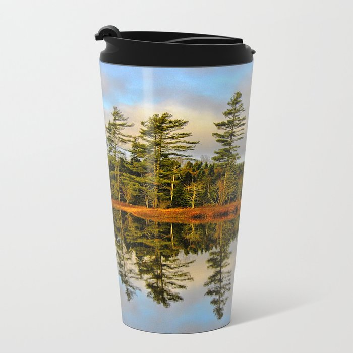 Reflections Metal Travel Mug