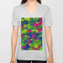 In the plum tree Unisex V-Neck