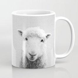 Sheep - Black & White Coffee Mug