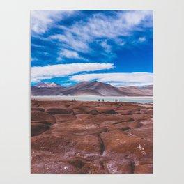 Piedras Rojas (Red Rocks), San Pedro de Atacama Desert, Chile Poster