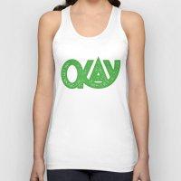 okay Tank Tops featuring OKAY by Josh LaFayette