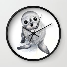 Little Seal Wall Clock