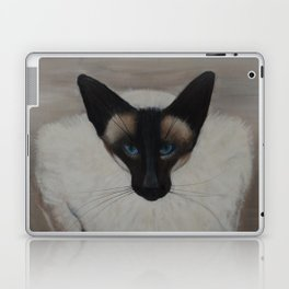 The Siamese Cat Laptop & iPad Skin
