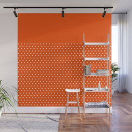 Dots on Clementine Wall Mural