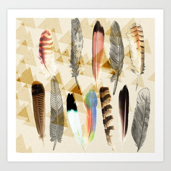 Indian head Art Print