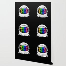 Astronaut Pug Wallpaper