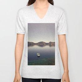 Crater Lake Unisex V-Neck