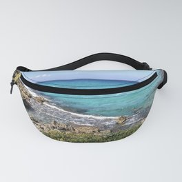 Vibrant Blue Waters of Formentera, Spain Fanny Pack