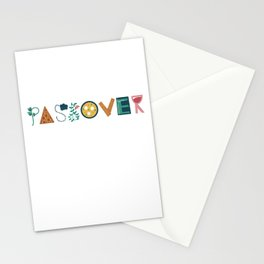Passover Letters Stationery Cards