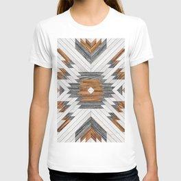 Urban Tribal Pattern 8 - Aztec - Wood T-shirt