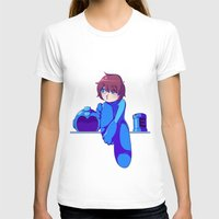 megaman T-shirts featuring Megaman II  by Thais Magnta Canha