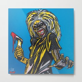 Eddie | Pop Art Metal Print