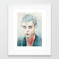 glass Framed Art Prints featuring Glass by Tillith