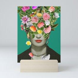 Frida Floral Mini Art Print