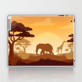 Abstract African Safari Laptop & iPad Skin