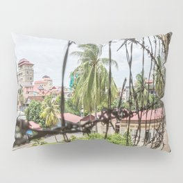 S21 Building C View - Khmer Rouge, Cambodia Pillow Sham