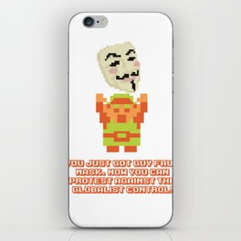 Legend of Guy iPhone Skin