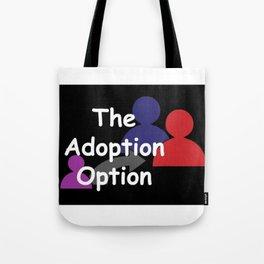 """""""The Adoption Option"""" TV Show Logo Tote Bag"""