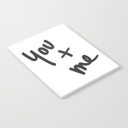 You and Me Notebook