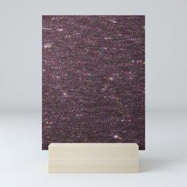 Pink Glitter Glitch Mini Art Print