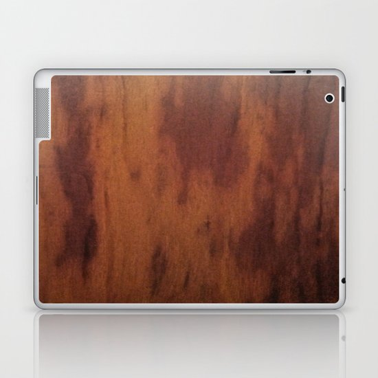 Wood Grain Laptop & iPad Skin