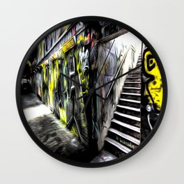 London Graffiti Art Wall Clock