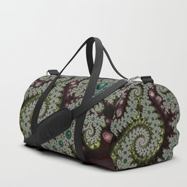 Caterpillar Fractal Duffle Bag