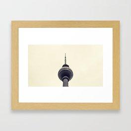 Berliner Fernsehturm Framed Art Print