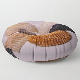 Different color shell Floor Pillow