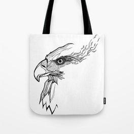 Fiery Freedom Tote Bag