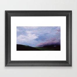 Letting Go Framed Art Print