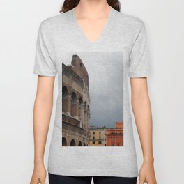 Stormy Rome Unisex V-Neck