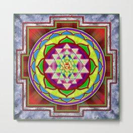 Intuition Sri Yantra I Metal Print