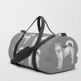 Alaskan malamute Duffle Bag