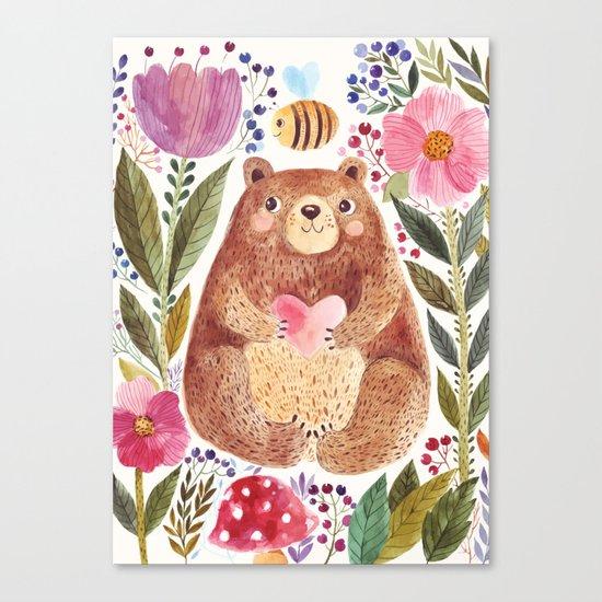 bear 2 Canvas Print