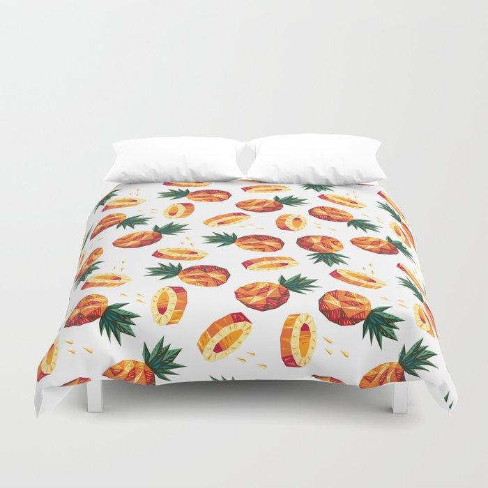 Edgy Pineapple Duvet Cover