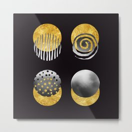 The Fifth Element. Abstract Art. Metal Print