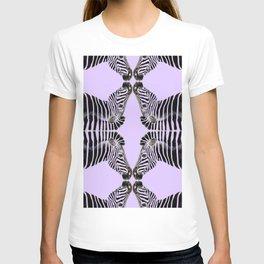 Lavander Zebras T-shirt