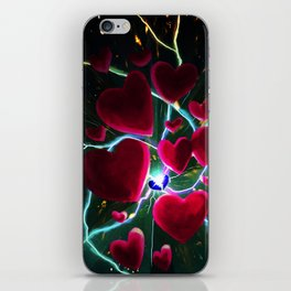 Hearts are meant to break. But there's always more hearts. iPhone Skin