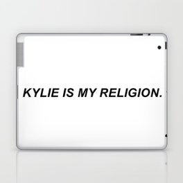 KYLIE IS MY RELIGION. Laptop & iPad Skin