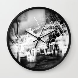 Lund In Motion 3 Wall Clock