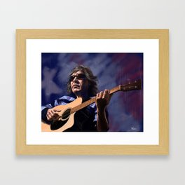 Jose Feliciano - American Guitarist Framed Art Print